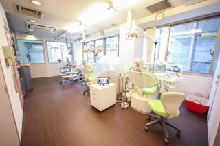 治療室の雰囲気