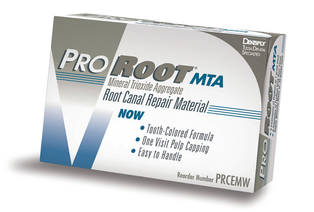 MTAによる根管充填と歯髄保存
